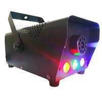 IP20 Waterproof 110V 500W LED Smoke Fog Machine Professional Wireless Remote Control Led Stage Lights