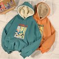 Зимние женские толстовки унисекс, модный шикарный пуловер в стиле Харадзюку, топы, свободная повседневная Уличная одежда, простые женские с...