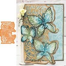 Бабочки Лоскутная форма Кружева металлические режущие штампы