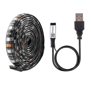 1M 2M 3M 4M 5M DC 5V LED Strip Light 5050 USB RGB Led TV Backlight 60LEDs/m Tape Diode Lamp Backlight TV Bluetooth Controller