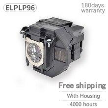 Remplacement Ampoule nue Pour EPSON pour ELPLP96/V13H010L96 EB W39 EB W42 EB X41 EB W05 Haute luminosité