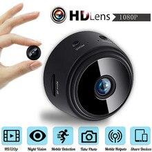 A9 wi fi mini app câmera monitor remoto visão noturna de segurança em casa 1080p câmera ip ir noite câmera sem fio magnética freeshipping