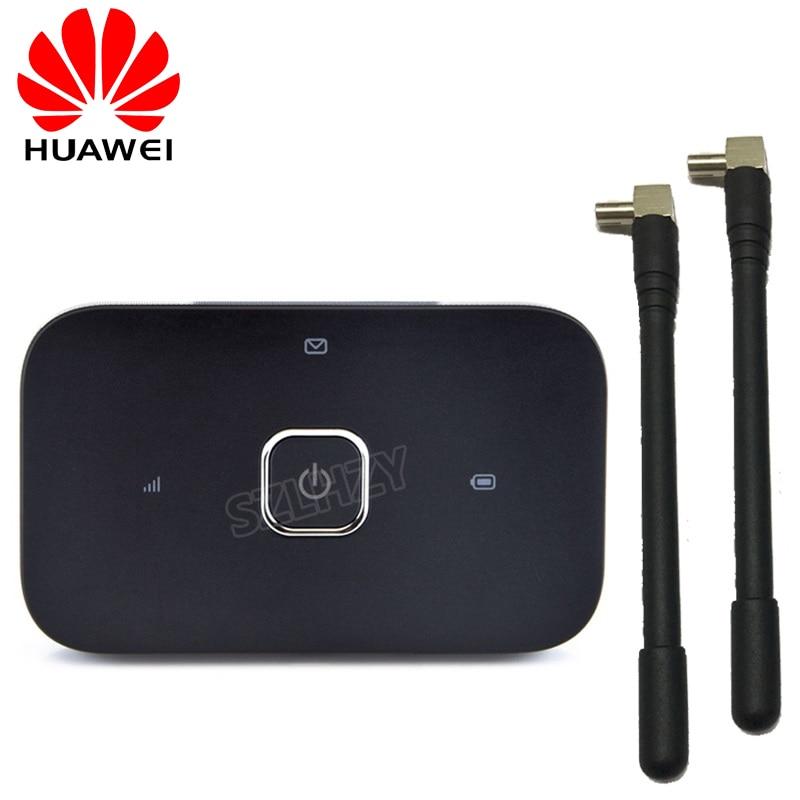 Desbloqueado HUAWEI Vodafone R216 R216H 4G Router inalámbrico 150Mbps Mobile Hotspot bolsillo Mifi módem 4G coche WiFi 2 antenas PK E5573 - 3