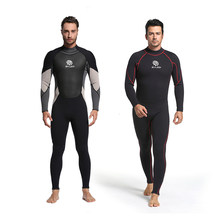 LIFURIOUS 3MM Men Diving Suit Full Body Surfing Neoprene Wetsuits Keep Warm Rash Guards Spearfishing Jumpsuit Swimming Equipment(China)