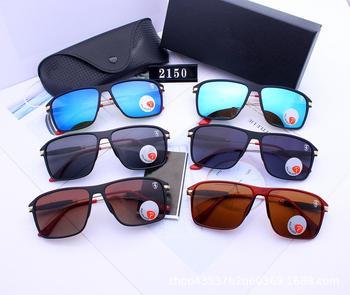 Polarized Sunglasses Oversized Square Men Ladies Luxury Brand Fashion Coating Gafas Shade Mirror UV400 Couple Watches