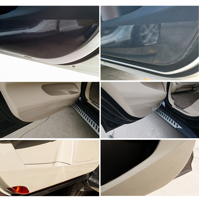 10 20 30 40 50x100cm Rhino Skin Protective Film Car Bumper Hood Paint Protection Sticker Anti
