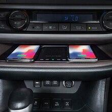 Toyota Highlander 2015 2016 2017 2018 2019 자동차 QI 무선 충전 전화 충전기 충전 전화 홀더 액세서리