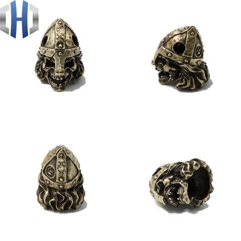 original nordic samurai cranio capacete artesanal faca