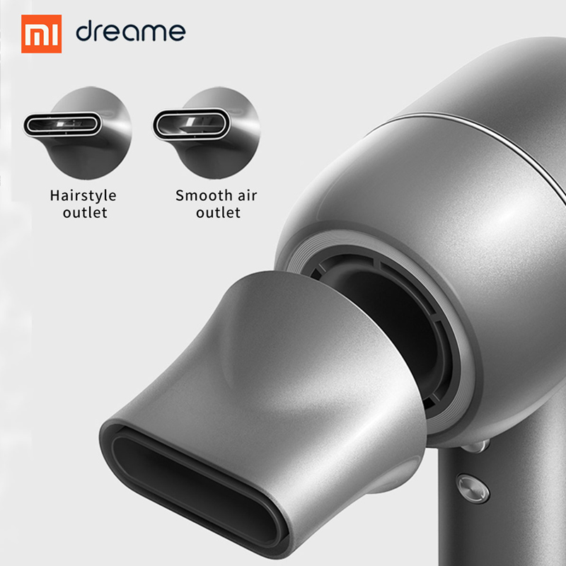 Image 5 - New XIAOMI Dreame Hair Dryer 1400W  110,000 rpm Intelligent Temperature Control Hair Dryer Negative Ion Men And Women Home-in Hair Dryers from Home Appliances