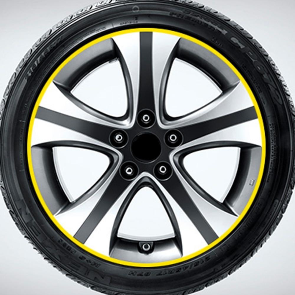Adhesivos decorativos modificados de moda para el Reflector de rueda de pasta de llanta de coche 20x16,3 cm Tinkerbell vinilo calcomanías Adhesivos para coche motocicletas decoración negro/plata