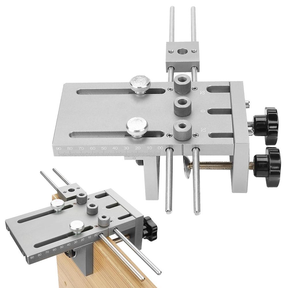 Kit de localisateur de guide de per/çage pour gabarit de per/çage 6//8 3 en 1 /à bois 15mm 10