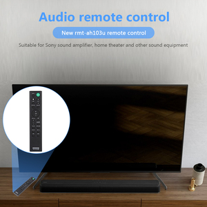 Image 4 - RMT AH103U Remote Control Space saving Power Amplifier for SO NY HTCT80 HTCT80 SACT80 SS WCT80 Sound Bar Ornaments