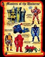 80古典的な漫画を彼はマン · ユニバース玩具アートカスタム任意のサイズ