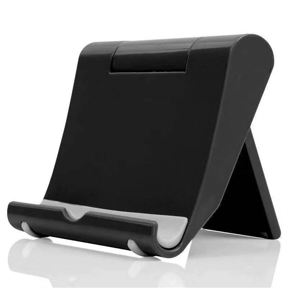 Upgrad Phone Holder With Non-slip Pad Universal Plastic Phone Bracket Stand Base For IPhone For Samsung For Xiaomi Phone Mount