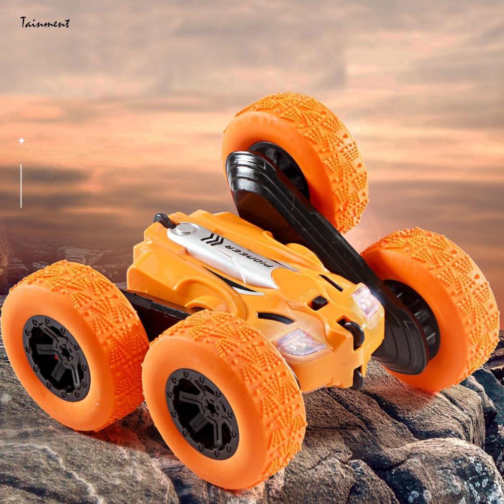 Полноприводный автомобиль с дистанционным управлением для детей 6-12 лет, двухсторонний автомобиль с дистанционным управлением и вращением ...