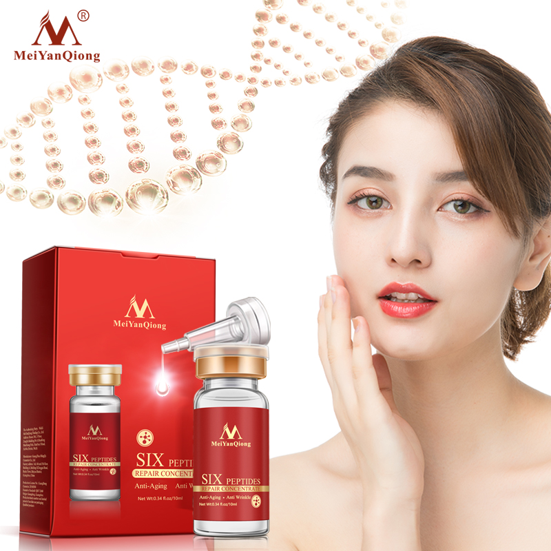 Argireline+aloe Vera+collagen Peptides Rejuvenation Anti Wrinkle Serum For The Face Skin Care Products Anti-aging Cream image