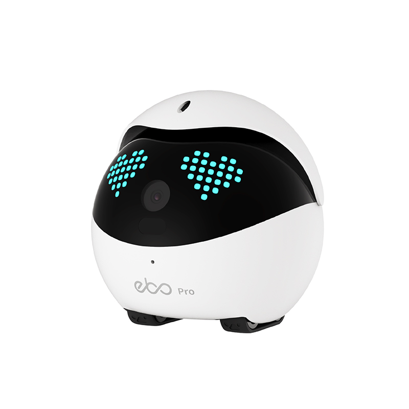 Ebo Pro Smart Robot WiFi Collar Catpal Pet Cats Toy Security 1080P Wireless Camera Interactive for Cats Remote Control Via App 2