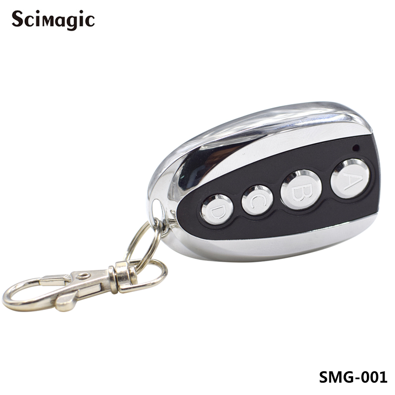 Remote Control Duplicator Copy Clone Garage Door Gate Remote Control Fixed Code 433mhz Transmitter Keychain Opener Command