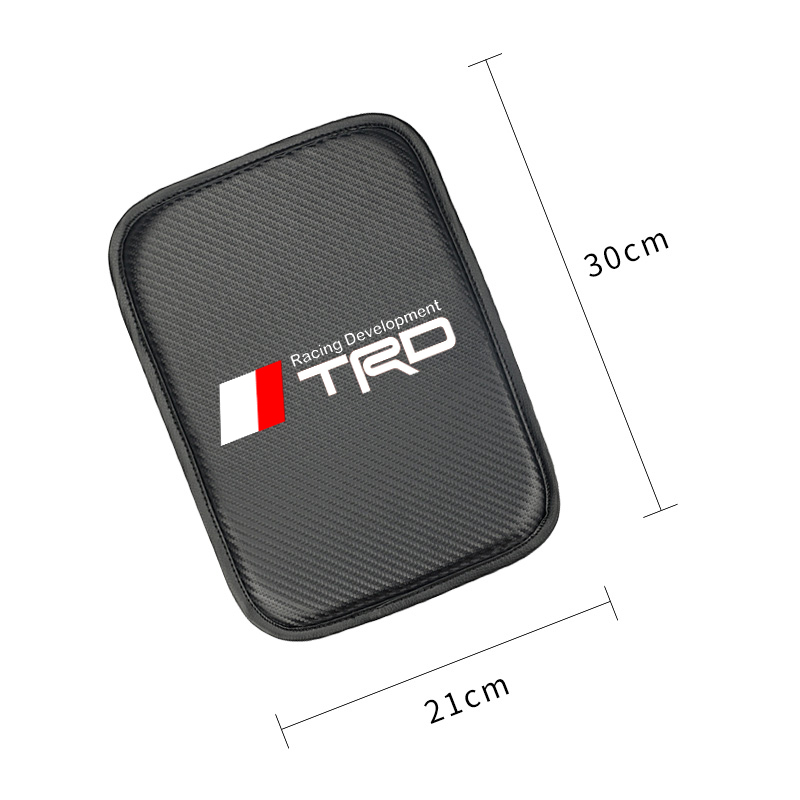 Image 2 - Car Styling for Toyota TRD camry corolla rav4 yaris prius Car Armrest Pad Covers Auto Seat Armrests Storage Protection Cushion-in Car Tax Disc Holders from Automobiles & Motorcycles