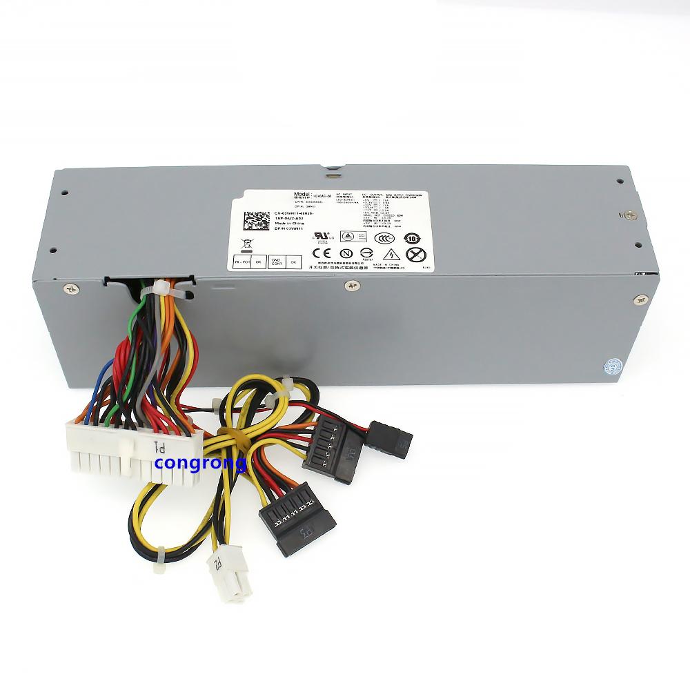 New PSU For Dell OptiPlex 390 790 990 3010 7010 9010 SFF Power Supply 3WN11 L240AS-00 TXYM H240AS-00 01 AC240AS-00/01 H240ES-00