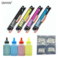 DMYON CE310A CE311A CE312A CE313A126A 126a Cartucho de Toner para HP LaserJet Pro MFP CP1025 CP1025nw M175 M275 M275nw|toner cartridge|color toner cartridge|hp 126a cartridges -