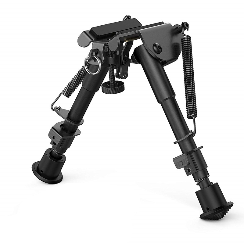 6-Inch-9-Inch Hunting Shooting Holder Butterfly Piece Holder Foot Support Frame Metal Frame Foot Stool Telescopic Folding