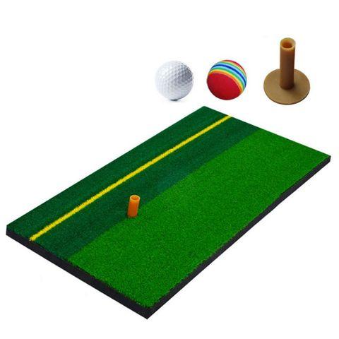 Exercício de Golfe Esteira Treinamento Bater Grama Almofada Quintal Indoor Prática Suprimentos G99d
