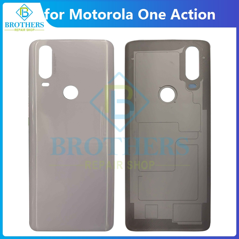 Battery Housing for Motorola One Action OneAction Back Cover Battery Door XT2013-1 XT2013-2 Rear Case Housing Phone Part New TOP