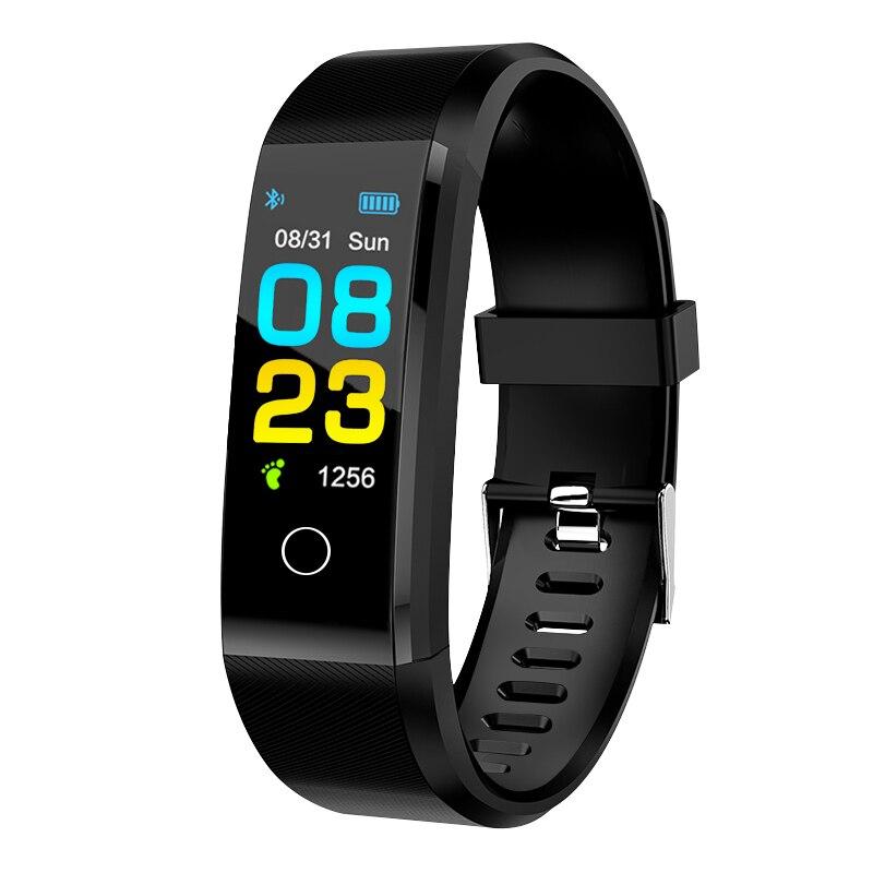 ZAPET New Smart Watch Men Women Heart Rate Monitor Blood Pressure Fitness Tracker Smartwatch Sport Watch for ios android +BOX 1