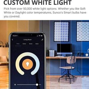 Беспроводные смарт лампы приложение Дистанционное Управление работать с Alexa/Google Home B22 E27 с регулируемой яркостью Led умный светильник или ИК пульт дистанционного Управление LED Lampas Светодиодные лампы и трубки      АлиЭкспресс