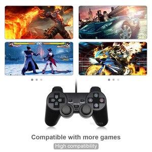 Image 4 - Kablolu USB PC için Gamepad WinXP/Win7/Win8/Win10 için PC bilgisayar Laptop siyah oyun denetleyicisi