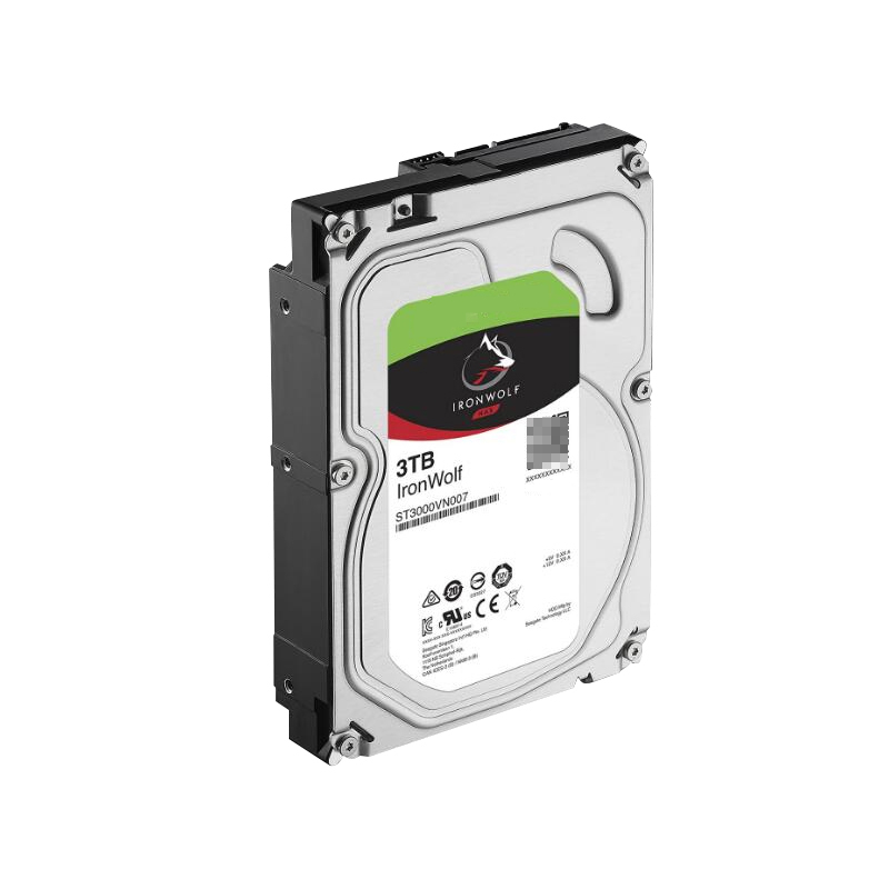 """New HDD For Seagate Brand Ironwolf 3TB 3.5"""" SATA 6 Gb/s 64MB 5900RPM For Internal Hard Disk For NAS Hard Drive For ST3000VN007 2"""