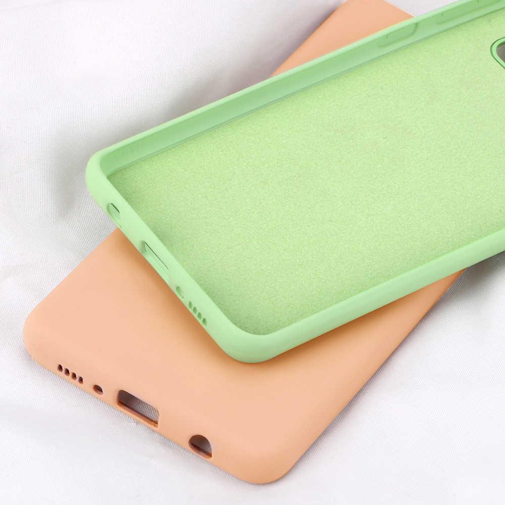 Originele Vloeibare Siliconen Cover Voor Samsung Galaxy S10 S9 S8 Plus Note 10 9 8 A50 A70 A80 30S 40 20e A7 2018 Dunne Zachte Case