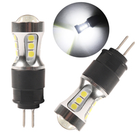 Lampadine a LED nhaut p 2Pcs G4 HP24W per Peugeot 3008 5008 luci di marcia diurna DHO DRL bianco 6000K 3030-SMD 12-24V
