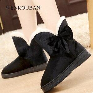 Warm Winter Boots Women Ankle