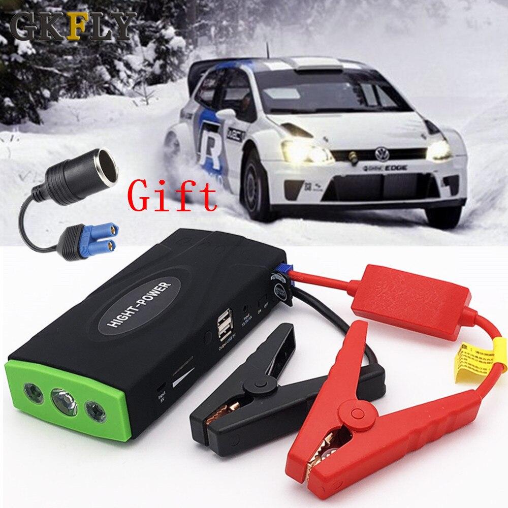 Gkfly Hoge Capaciteit 12V 600A Uitgangspunt Apparaat Multifunctionele Jump Starter Auto Oplader Voor Auto Batterij Booster Buster power Bank