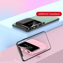 Power Bank 20000mAh For iPhone 11 Xiaomi Powerbank External
