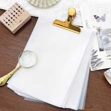 A5 Thickened Semi Transparent Tracing Paper Hand Account Collage Material Seal Paper Sketchbooks Tracing Paper