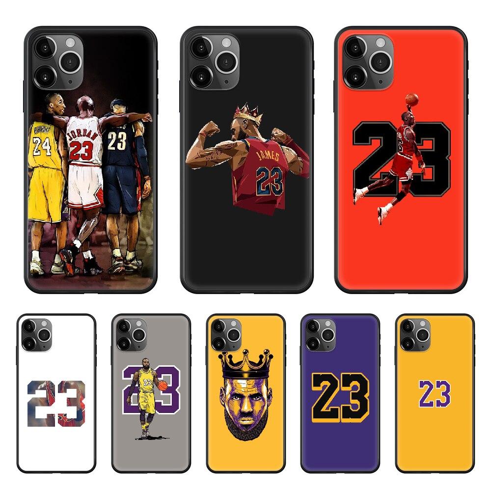 basketball player James Jordan Phone Case cover For iphone 4 4S 5 5C 5S 6 6S PLUS 7 8 X XR XS 11 PRO SE 2020 MAX black coque