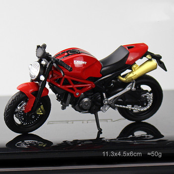 1:18 Simulation Motorcycle Toy Car Model Roadster Pull Back Kids Toys Collection Toys Home Decoration Christmas Birthday Gift image