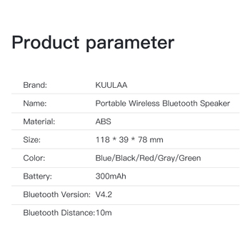 Bluetooth-Колонка KUULAA 6