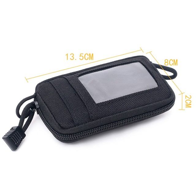 Tactical Wallet Card Bag Muti-functional Key Money Pouch Military Wallet Waist Pack for Outdoor Sports Hunting Accessory Bag 4