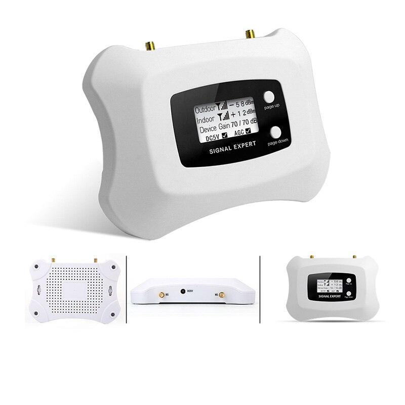 Image 4 - ЖК дисплей! Мини Смарт 2100 МГц 3G Усилитель сотового телефона 3G  ретранслятор UMTS 3G Усилитель сотового сигнала комплект усилителя для  3Gsignal booster amplifierbooster amplifieramplifier 3g