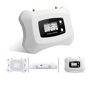 Image 4 - ¡Pantalla LCD! Mini amplificador de teléfono móvil inteligente 3G, 2100 MHz, repetidor 3G, UMTS, kit de amplificador de Amplificador de señal móvil 3G para 3G
