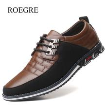 2019 New Big Size 38-48 Oxfords Leather Men Shoes Fashion Ca