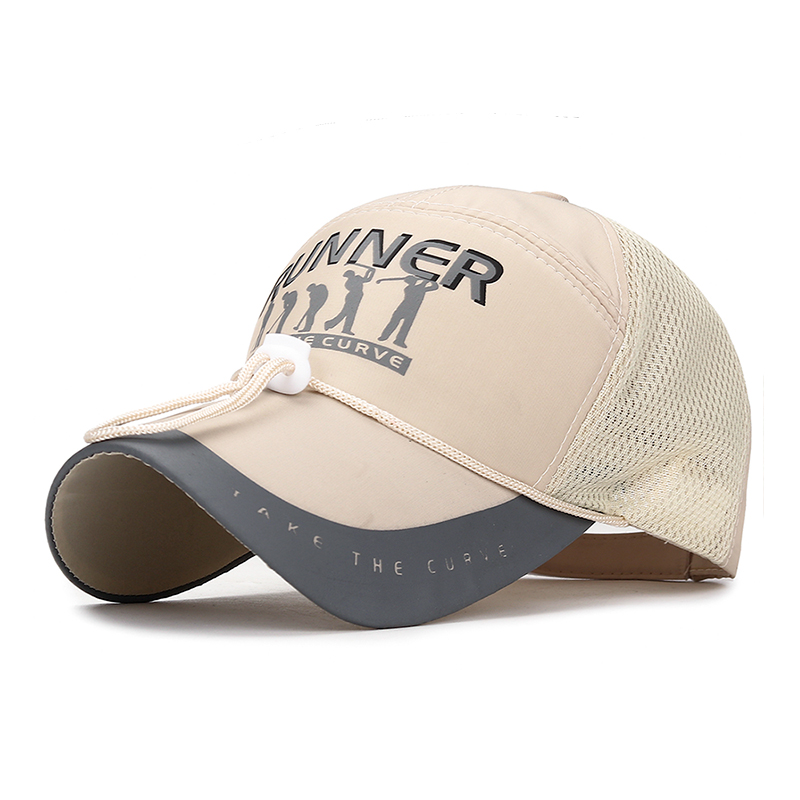 Thin Cloth Breathable Summer Hat Summer Long Hood Sun Protection Baseball Cap Men's Outdoor Visor Casual Mesh Hat