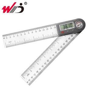 Image 1 - 200 Mm 7 Kỹ Thuật Số Gonionmeter Thép Không Gỉ Góc Thước Tìm Kỹ Thuật Số Protractor Inclinometer Thước Đo Góc Dụng Cụ Đo
