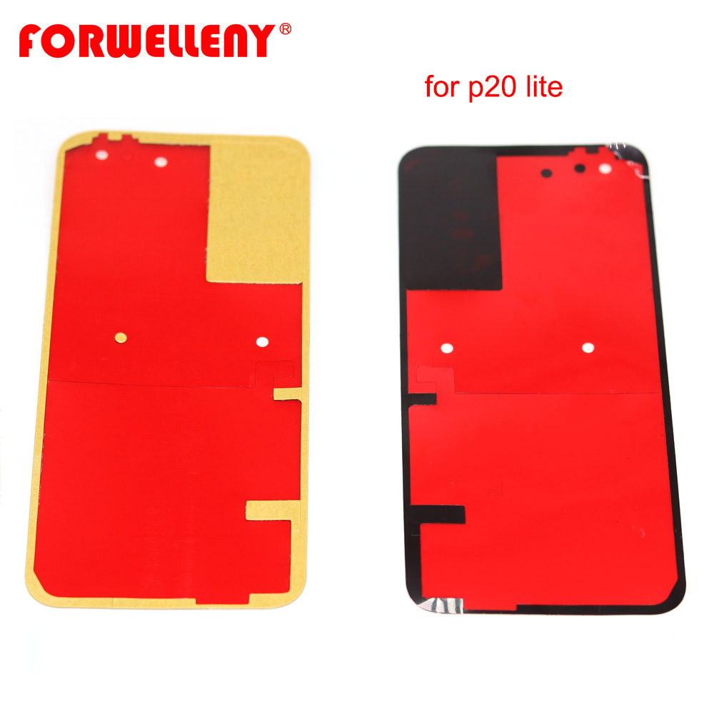 For Huawei P20 Lite / Nova 3e Back Battery Door Glass Cover Adhesive Sticker Stickers Glue ANE-LX1 ANE-LX2 ANE-LX3