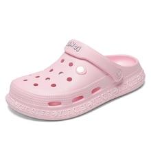 2020 جديد الصيف امرأة أحذية السيدات نعال شاطئ المرأة صندل مسطح كبير الحجم قباقيب أحذية رجالي الشرائح صندل Zapatos Sandalias