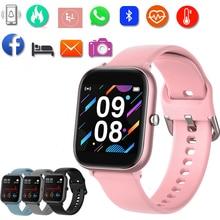 P20 Smart Watch 2021 orologi sportivi impermeabili per uomo donna rosa Fitness Wristband Smart Clock Health Monitor per Apple Xiaomi
